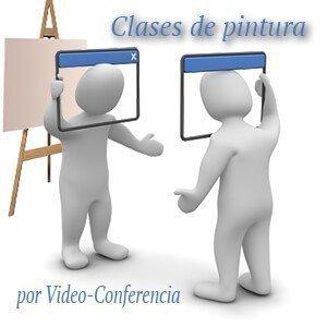 clases de pintura por videoconferencia