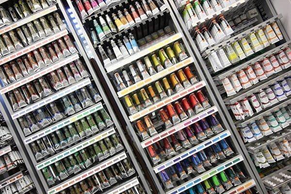 artículos de arte y pintura