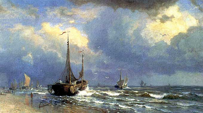 pintar una marina