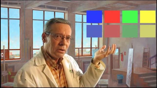 Los colores luz y quebrados | la obtención del color | Lección 4 |