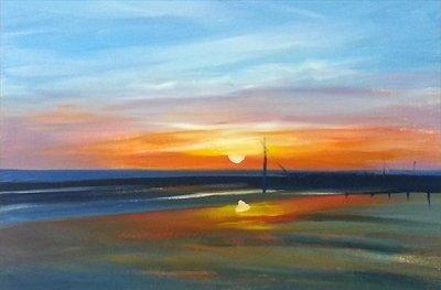 colores puesta de sol