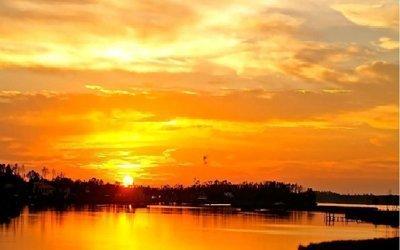 Pintar una puesta de sol