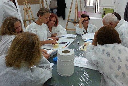 Terminamos nuestro Curso experimental de pintura por Internet: Resumen y conclusiones