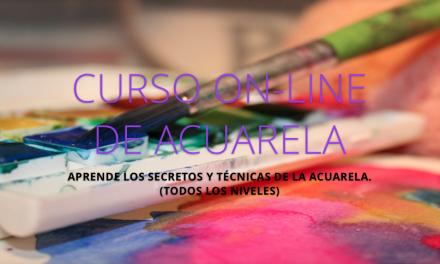 Curso Online de Acuarela con Hangel Montero. Julio 2017