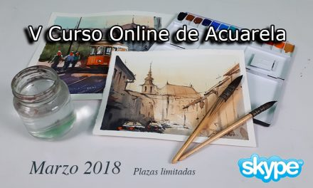 V Curso Online de Acuarela. Marzo 2018