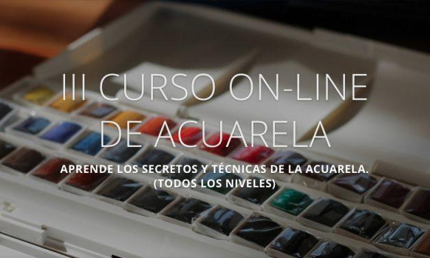 III Curso Online de Acuarela (Agosto 2017)