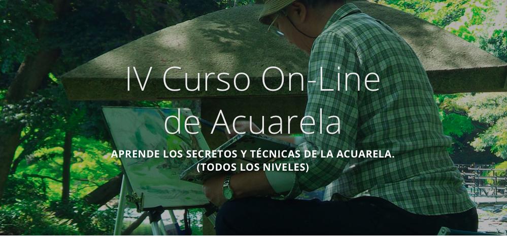IV Curso Online de Acuarela (octubre 2017)