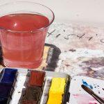 Acuarela. La proporción de agua y pigmento. Un problema y un dilema.