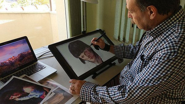 """¿Pintura digital?… Yo diría más bien """"Arte digital"""""""