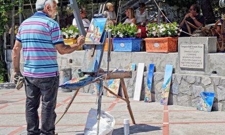 ¿Pintar en el estudio, o al aire libre?. ¿Qué es mejor?