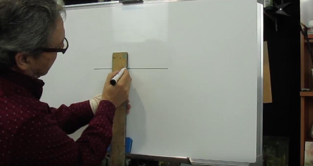 Recurso de dibujo técnico para dibujo artístico: Cómo dibujar una elipse